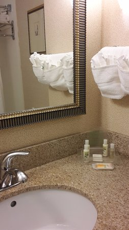 Holiday Inn Raleigh Durham Airport-Morrisville: basic but good amenity kit