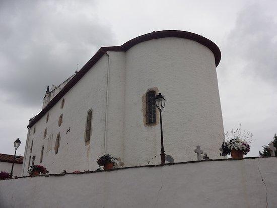 Église Saint-Martin, Ahetze (Pyrénées-Atlantiques, Nouvelle Aquitaine), France.