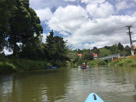 Puhoi River Canoe Hire Ltd Kayak Trips: Heading down the Puhoi River