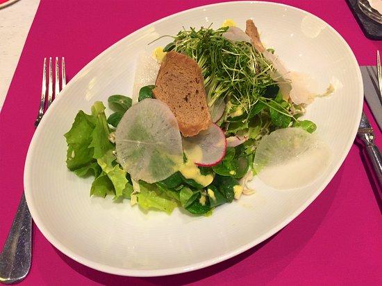 Endingen am Kaiserstuhl, Alemania: kleiner Salat