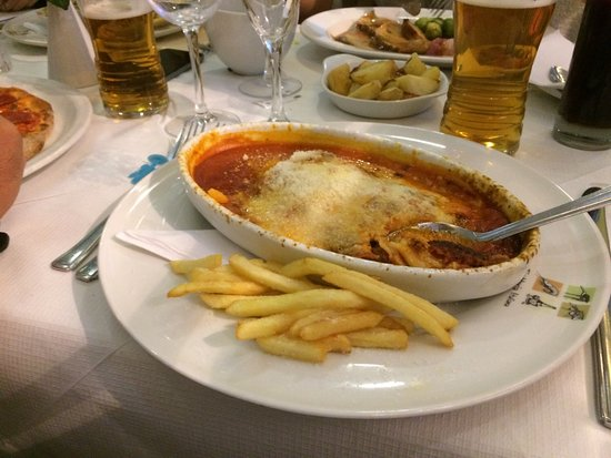 Bexhill-on-Sea, UK: The lost lasagne
