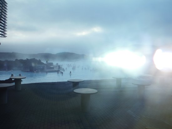 Grindavik, Iceland: fogged up pic