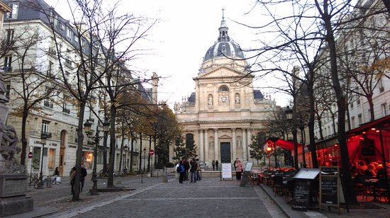 Picture of place de la sorbonne paris for Sorbonne paris