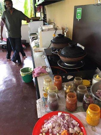 Mawanella, Sri Lanka: cooking class