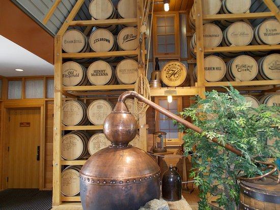 Bardstown, KY: Inside Heaven Hill Bourbon Heritage Center