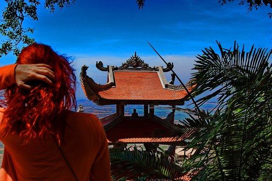 Reclining Buddha : Вид с горы