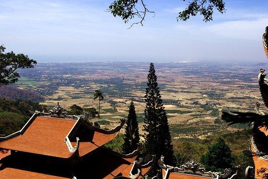Provincie Bình Thuận, Vietnam: Вид с горы