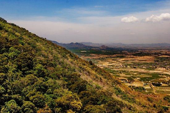 Binh Thuan Province, เวียดนาม: Вид с горы