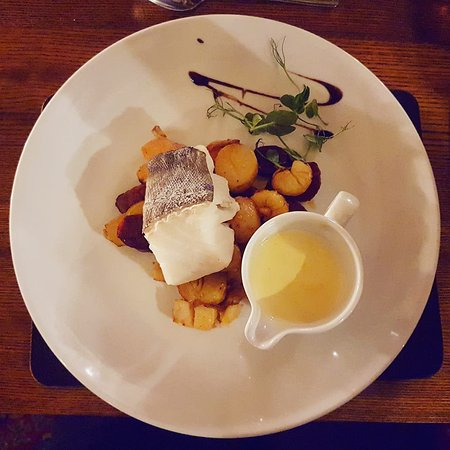 Great Broughton, UK: Cod loin main