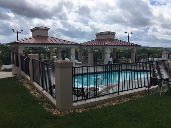 Pulaski, TN: On a long summers day enjoy a dip in our pool.