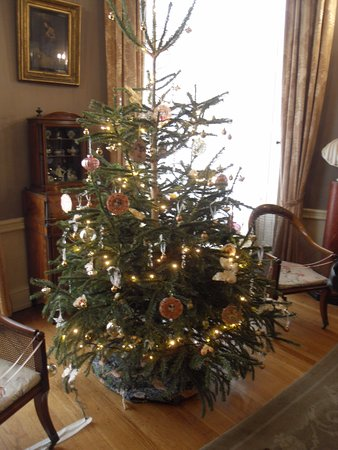 lotherton hall all decorated for xmas