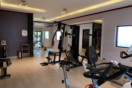 Oriental Kwai Resort : Fitness room