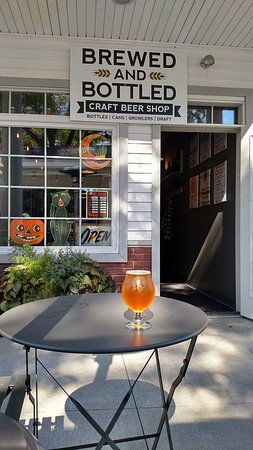 Brewed and Bottled Craft Brew Shop