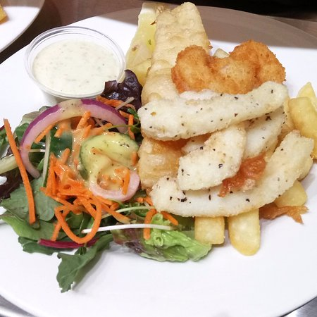 Dicky Beach, Australia: Seafood Treasure Lunch Special
