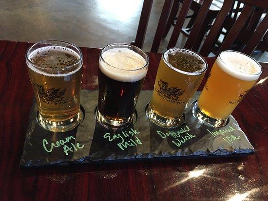 Fredericksburg, VA: beer samplers