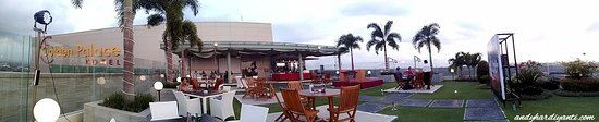 Golden Palace Hotel Lombok: the rooftop
