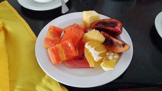 Farallon (Playa Blanca), Panama : Fruta tropical deliciosa