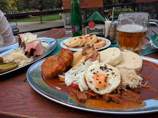U Mansfelda: Unbelievable portions.