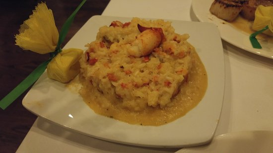 Mendenhall, PA: Lobster Risotto. Simply Unbelievable.