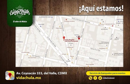 Buscanos en google maps Picture of Vida Chula Mexico City