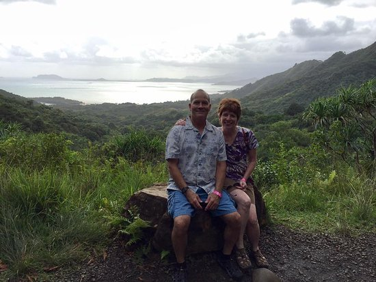 View of Kaneohe Bay in the background