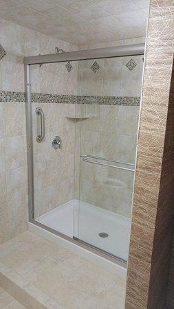 Glen Mills, PA: AMAZING shower.. in a standard King Room!
