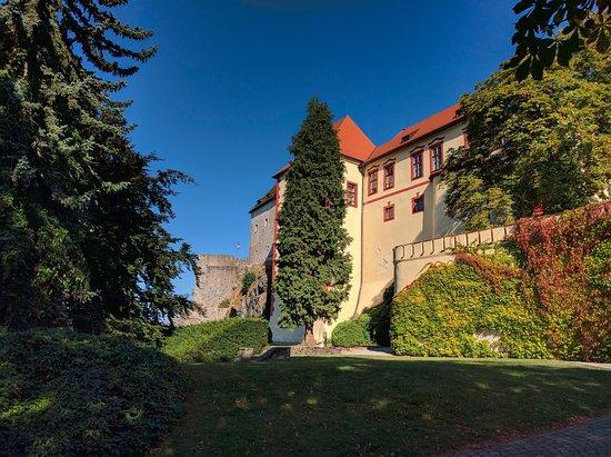 A beautiful castle.