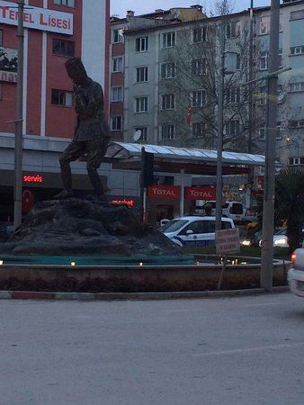 Bilecik Province, Turkey: Atatürk Anıtı.
