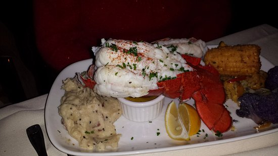 Englewood, CO: Twin Lobster Tails, at least 8oz each if not bigger