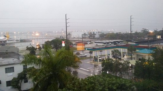 Miami Springs, FL: view from room