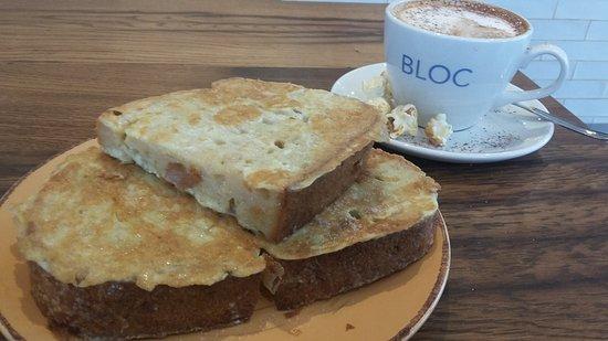 Bloc Eggy Sourdough Bread