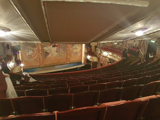 Novello Theatre View From Back Of The Top Floor