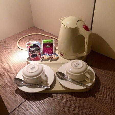 Holiday Inn St. Petersburg Moskovskiye Vorota: Чай, кофе в номере.