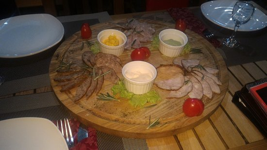 Irkutsk Oblast, Russia: холодная закуска