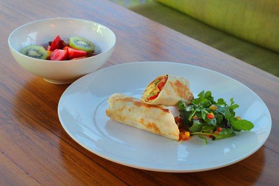 เดอะอูลิน วิลล่าส์ แอนด์ สปา: One of our breakfast menu - Breakfast Wrap