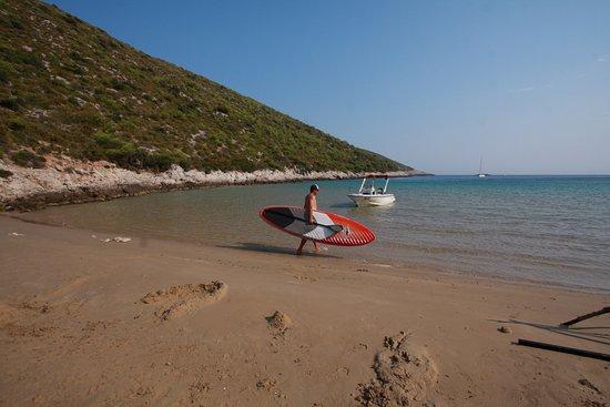 Vis, Croatia: Sup tour at Smokova bay