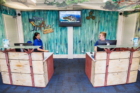 Thorpe Shark Hotel Reception