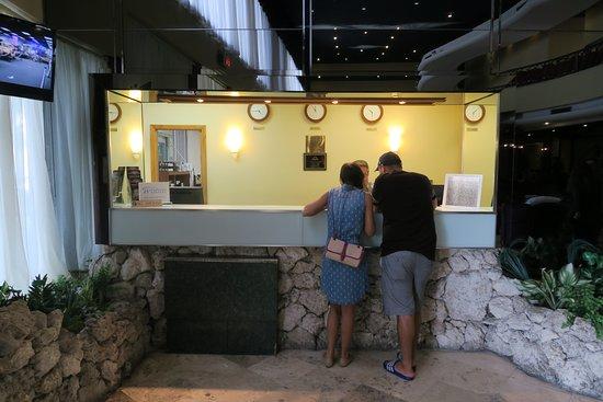 Sunny Isles Beach, Floride : recepcion