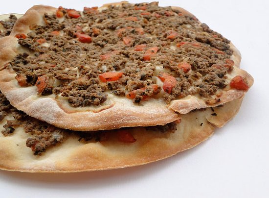 Nados Authentic Lebanese Cuisine: lahm bajeen