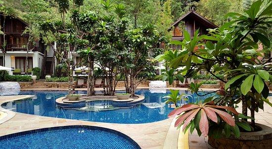 The Tubkaak Krabi Boutique Resort: Quiet hotel pool