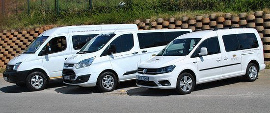Randburg, Sudáfrica: We have a range of different size vehicles to suit the requirements of different size groups.