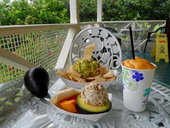 Pepeekeo, Χαβάη: food & Smoothie