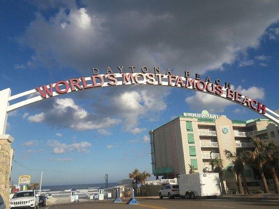 Beach At Daytona World S Most Famous