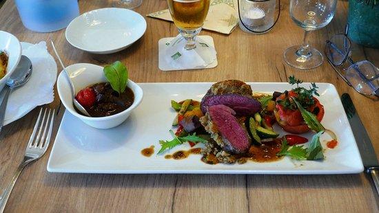 Pulsnitz, Alemania: Lamm-Zweierlei