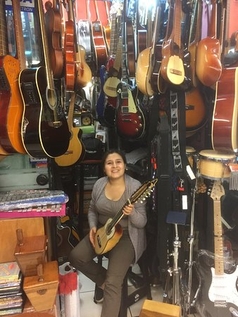 Plaza del Dos de Mayo: A centre to buy musical instruments. Lots of choices from basic to professional models. You will