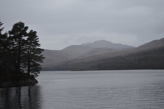 Loch Lomond and The Trossachs National Park, UK: Loch Katrine, Diciembre 2016