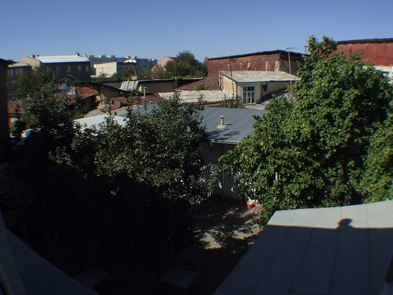 Gulnara Guesthouse: View from the room
