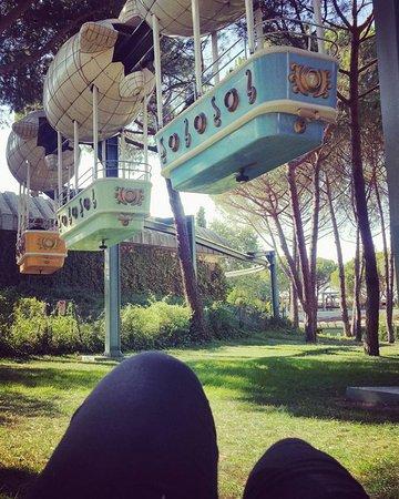 Parque de Atracciones: Disfrutando