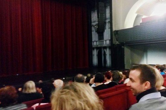 Hybernia Theatre: interiér divadla
