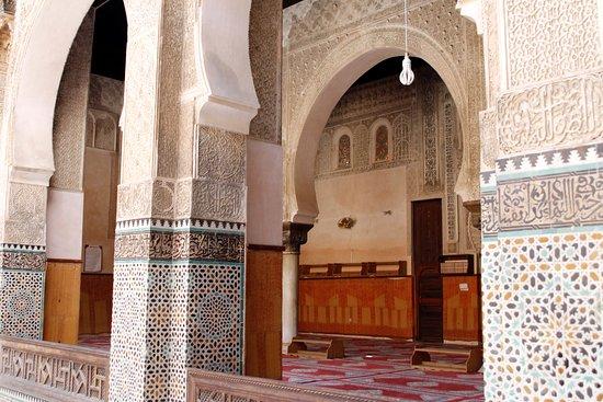 Détails De La Porte Paravent - Picture Of Bou Inania Medersa, Fes